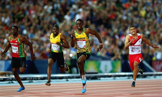 Glasgow 2014 : Kemar Bailey-Cole takes 100m title for Jamaica as Adam Gemili claims silver