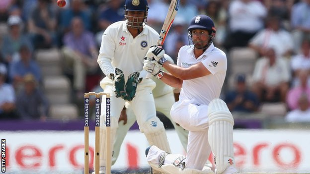 Cricket : ENG v IND : Alastair Cook relieved by end to barren run