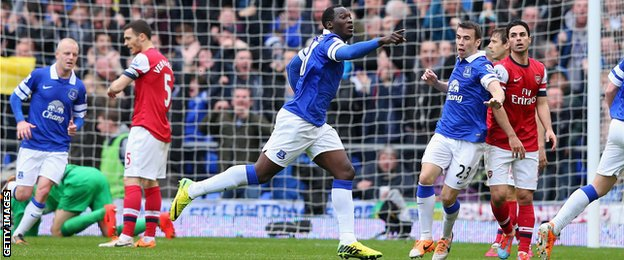 Premiership : Romelu Lukaku : Everton sign Chelsea striker for £28m