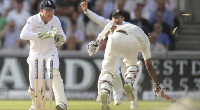 Cricket: ENG v IND: England beat India by an innings in three days at Old Trafford