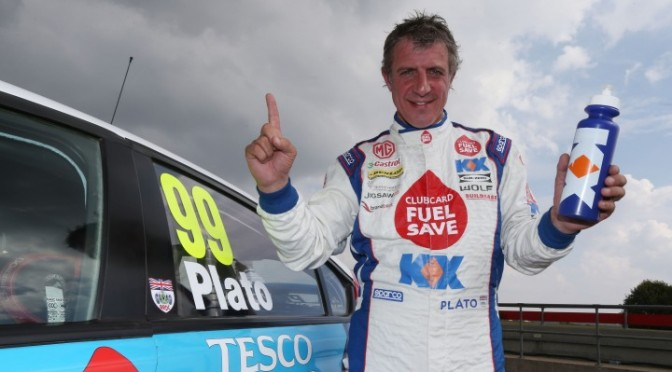 BTCC : Plato Produces Lights-toflag Victory