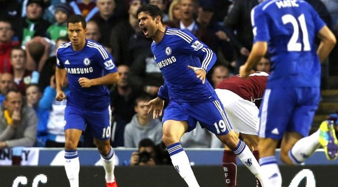 Premiership : Burnley 1-3 Chelsea