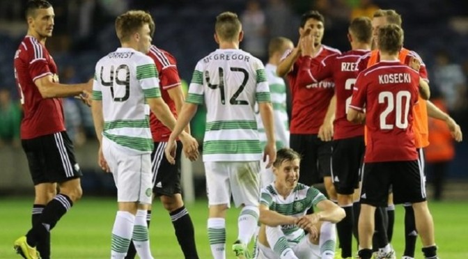 Champions League: Celtic reinstated to Champions League after Legia Warsaw error