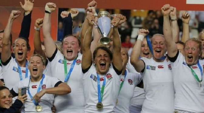 Women's Rugby World Cup: England beat Canada to win final