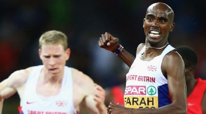 Athletics: Mo Farah wins 10,000m European Championship gold