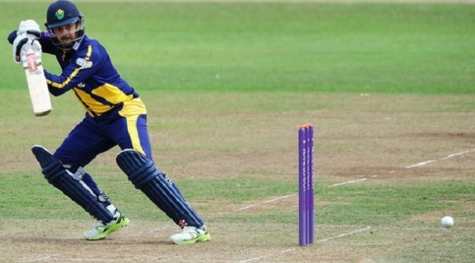 Cricket: One-Day Cup: Rudolph ton sees Glamorgan beat Somerset