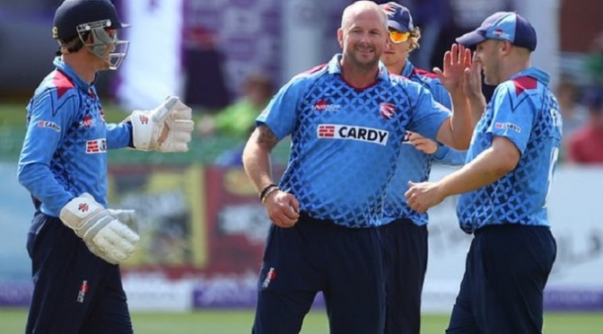 Cricket: One-Day Cup: Glamorgan undone by Bollinger haul for Kent