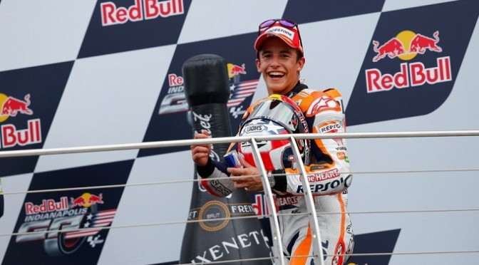 MotoGP: Marc Marquez extend his winning streak to ten in Indianapolis