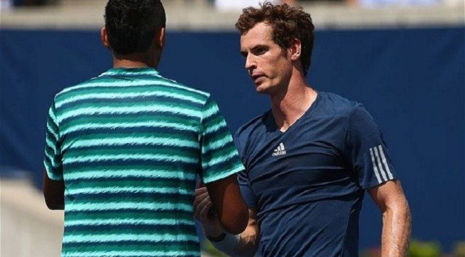 Tennis: Andy Murray beats Nick Kyrgios at Rogers Cup in Toronto