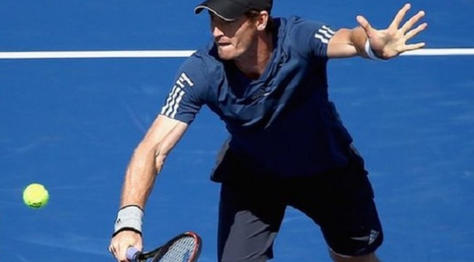 Tennis: Andy Murray into Cincinnati last 16 as James Ward goes out