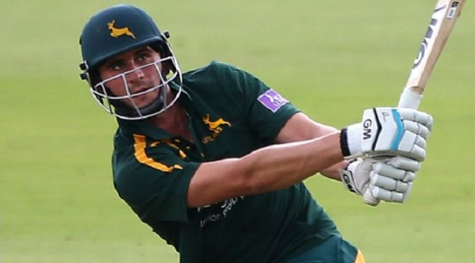 Cricket: One-Day Cup: Alex Hales & James Taylor earn Notts record win