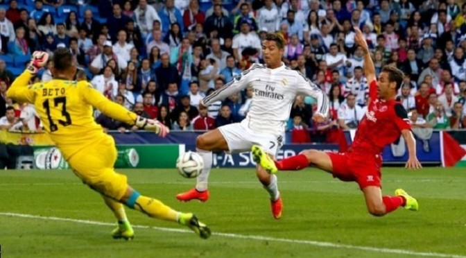 Super Cup: Cristiano Ronaldo scores twice in Real Madrid win