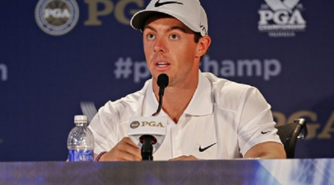 Golf: Rory McIlroy in the moment as others contemplate major US PGA issues