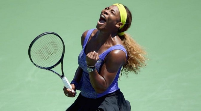 Tennis: Serena through in Cincinnati