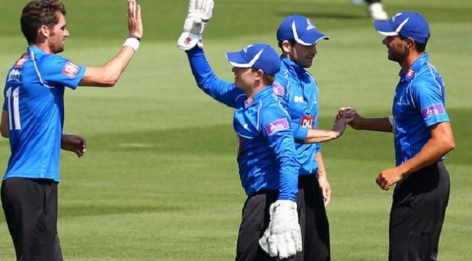Cricket: One-Day Cup: Sussex ease to victory over Surrey at The Oval