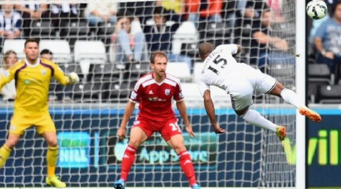 Premiership: Swansea 3-0 West Brom