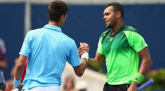 Tennis: Tsonga shocks Djokovic in Toronto