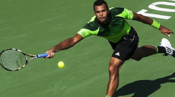 Tennis: Rogers Cup: Jo-Wilfried Tsonga beats Roger Federer to win title