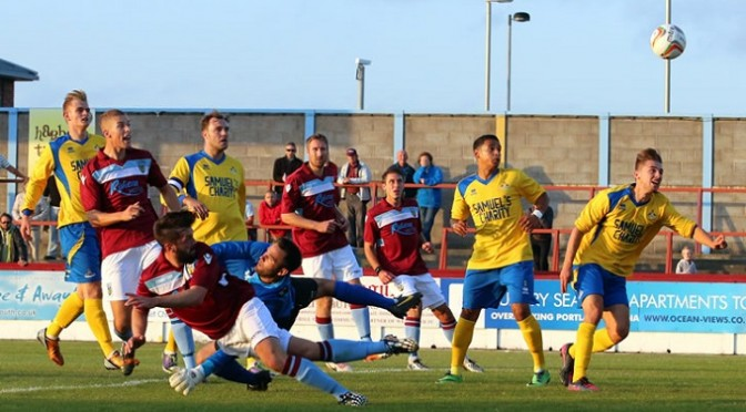Football: Weymouth 4-2 Frome