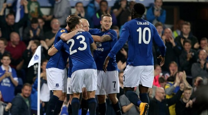 Europa League: Everton 4-0 Wolfsburg