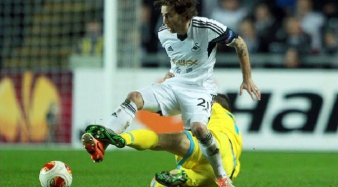 Premiership: Swansea: Jose Canas moves to Espanyol