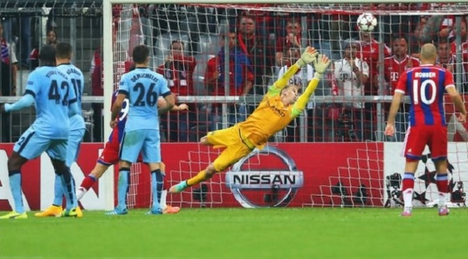Champions League: Bayern Munich 1-0 Man City