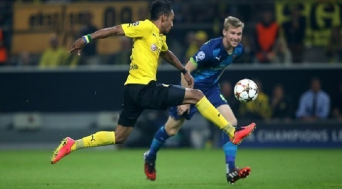 Champions League: Borussia Dortmund 2-0 Arsenal