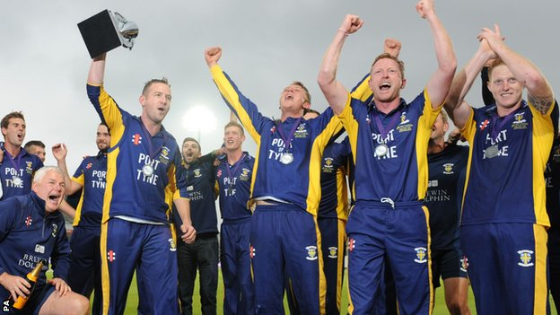 One-Day Cup: Final: Durham beat Warwickshire