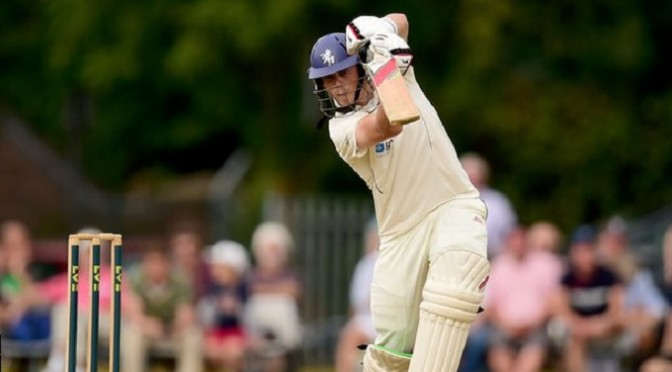 Cricket: Essex v Kent: Sam Northeast hits a ton as Kent suffer collapse