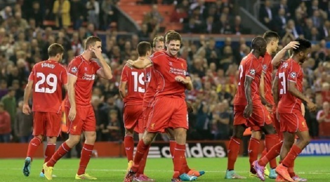 Champions League: Liverpool 2-1 Ludogorets