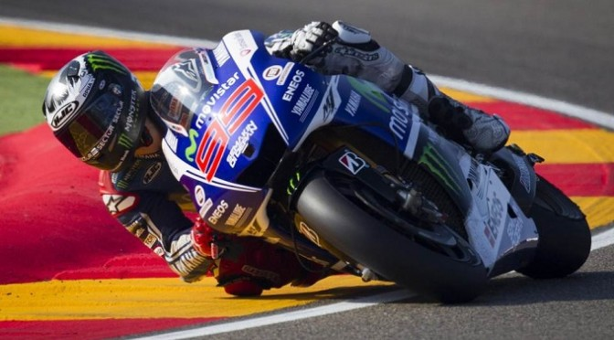 MotoGP: Lorenzo wins rain-hit Aragon