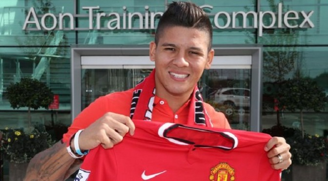 Football: Marcos Rojo: Man Utd's £16m defender handed UK work visa