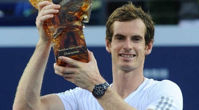 Tennis: Murray wins Shenzhen Open