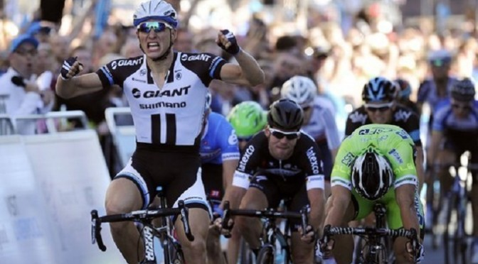 Tour of Britain: Kittel wins Stage 1