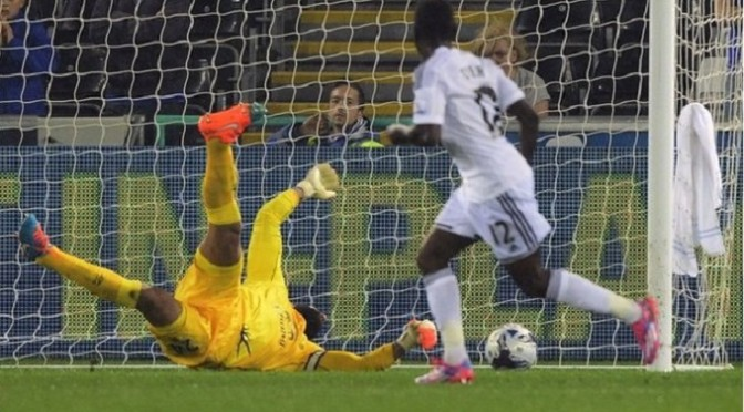 League Cup: Swansea 3-0 Everton