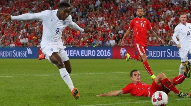 Euro 2016 Qualifying: Switzerland 0-2 England