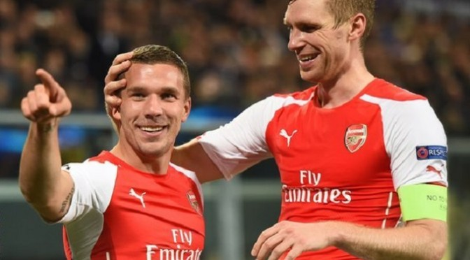 Champions League: Anderlecht 1-2 Arsenal