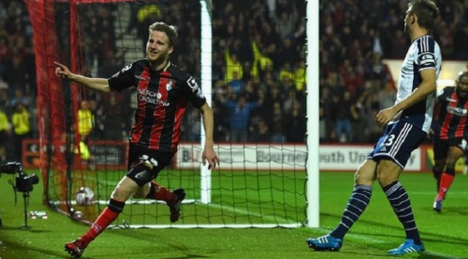 League Cup: Bournemouth 2-1 West Brom