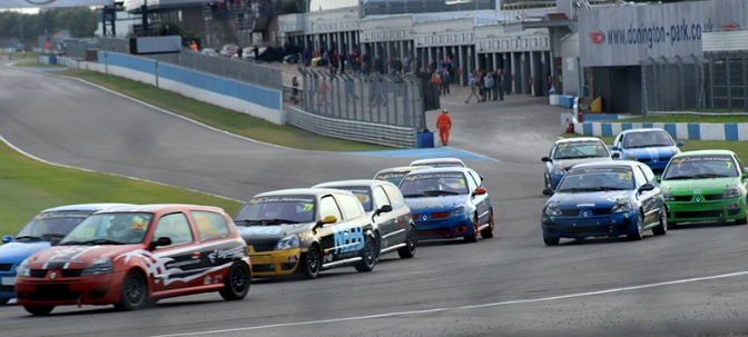Clio 182 Series: Donington Race Report