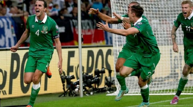 Euro 2016 Qualifying: Germany 1-1 Ireland