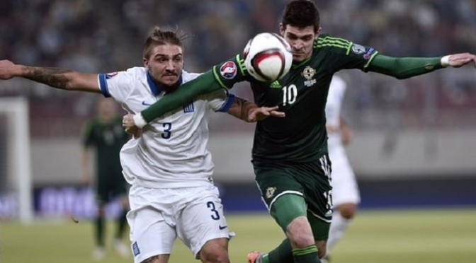 Euro 2016 Qualifying: Greece 0-2 Northern Ireland