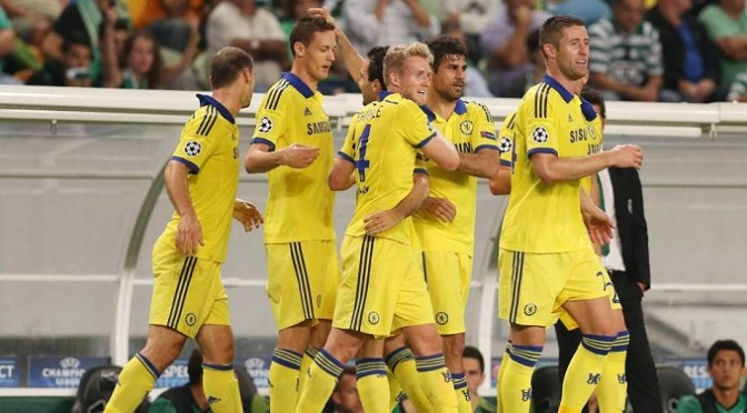 Champions League: Sporting Lisbon 0-1 Chelsea