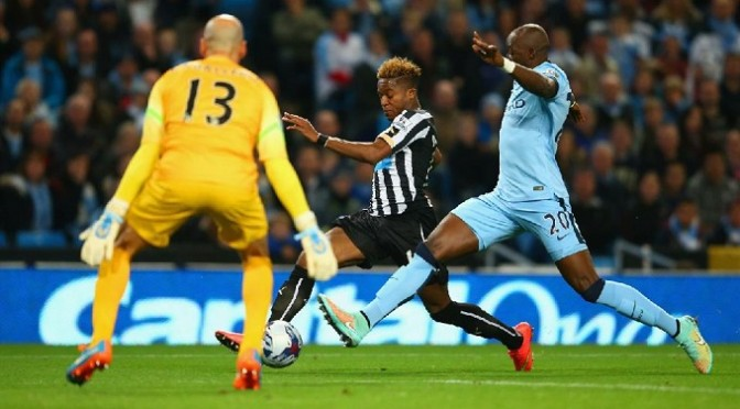 League Cup: Man City 0-2 Newcastle