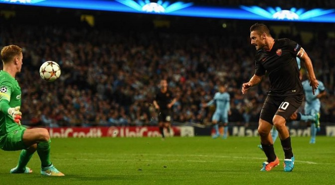 Champions League: Man City 1-1 AS Roma