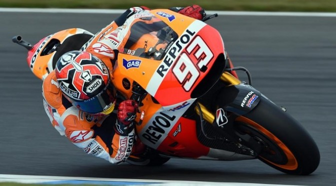 MotoGP: Marquez roars to record-equalling 12th win