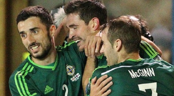 Euro 2016 Qualifying: Northern Ireland 2-0 Faroe Islands