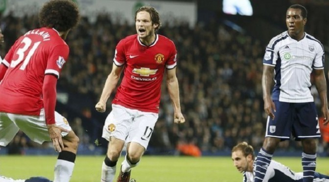 Premiership: West Brom 2-2 Man Utd