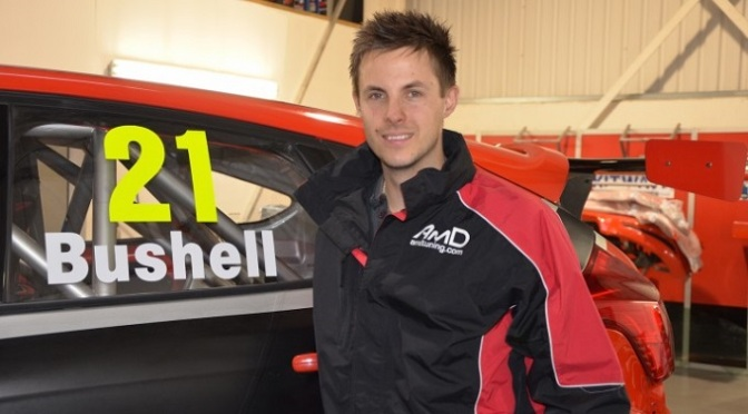 BTCC: Clio Cup Champion Mike Bushell Joins AMDtuning.com
