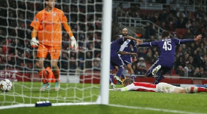 Champions League: Arsenal 3-3 Anderlecht