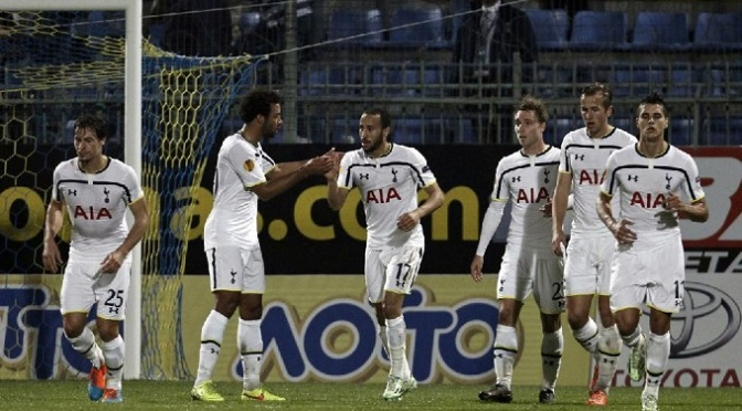 Europa League: Astera Tripolis 1-2 Spurs